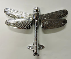 Chrome Door Knocker - Dragonfly