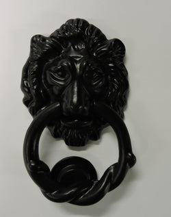 Wrought Iron Lion Door Knocker