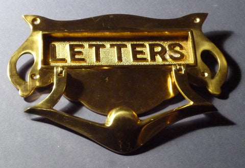 Mail Slot with Door Knocker #10