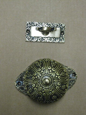 Doorbell Antique Brass - B11