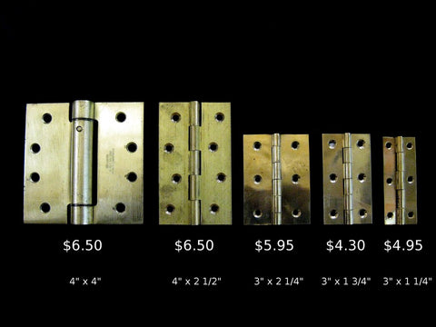Brass Hinge - Rectangular