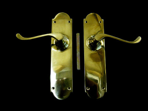 Brass Door Lever Handle