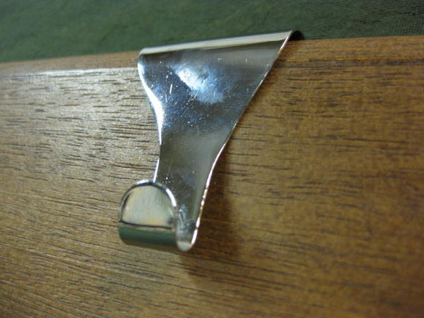 picture rail moulding hooks hangers hanging picture frame plane chrome hardware Vancouver Main St