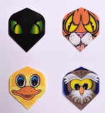 Polymet dart Flights - Animals