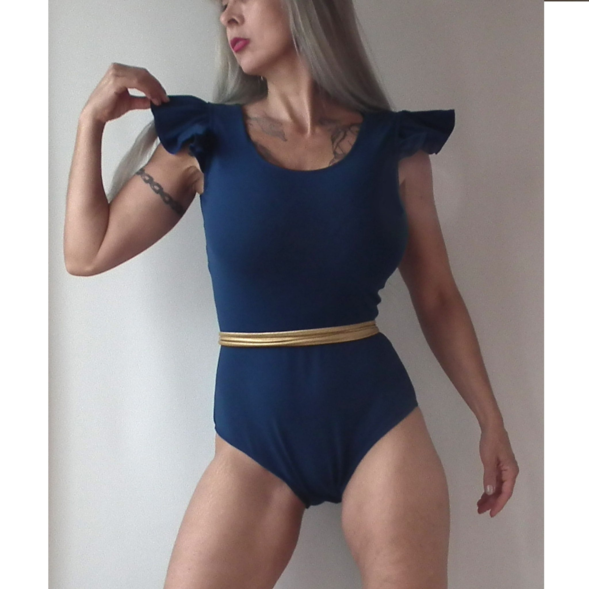 SIZES XS-XL POLEDANCE LEOTARD PDF Sewing Pattern
