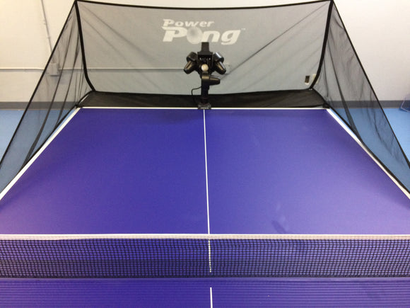 Power Pong Table with PP2000 Robot (Available in Southern California only)