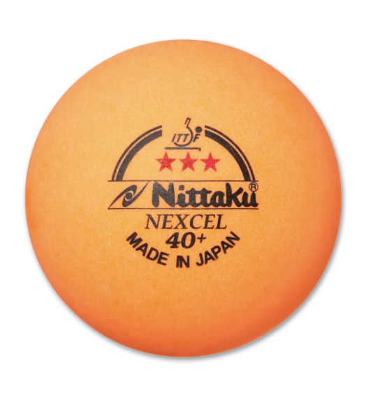 Nittaku 3-Star Nexcel 40+ Orange 12pk.