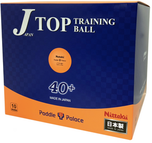 Nittaku J-Top 40+ 120 Training Balls