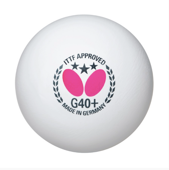 Butterfly 3-Star Ball G40+ 12pk