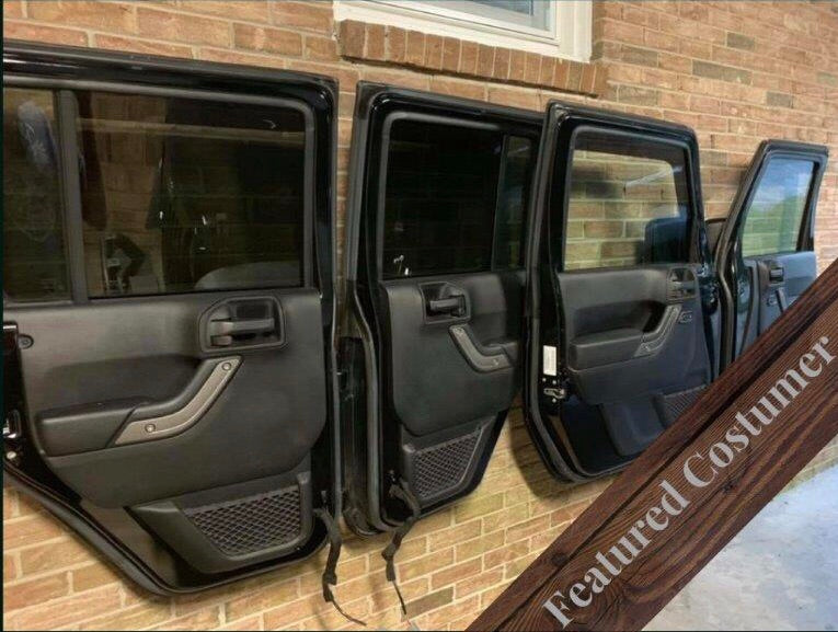 O.R.C Package of Two (2), 2-Door Hangers for '72-06' Jeep Wrangler