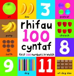 First 100 Numbers First 100 Numbers in Welsh - Siop Y Pentan