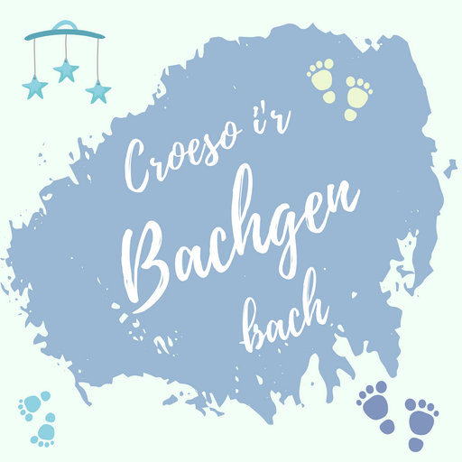 Cerdyn Croeso i'r Bachgen Bach | On The Birth of Your Son Card
