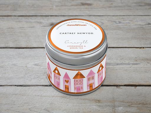 Candle New Home - Siop Y Pentan