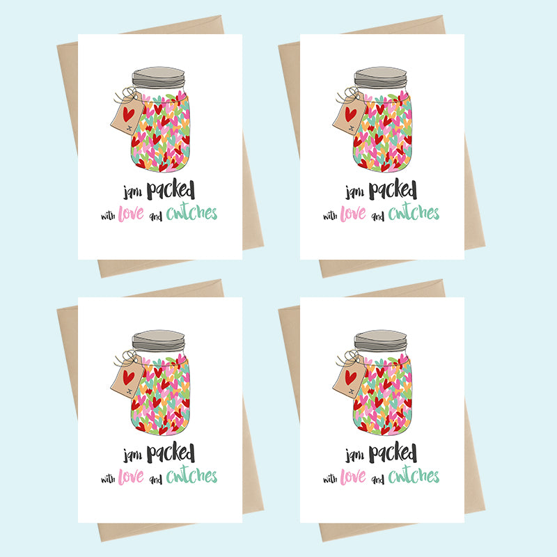 'I am packed with love and cwtches ...' | Dandelion Stationery - Siop Y Pentan
