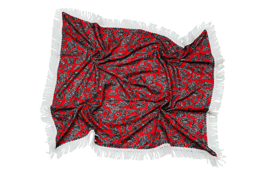 Traditional Welsh Shawl St David's Day - Siop Y Pentan