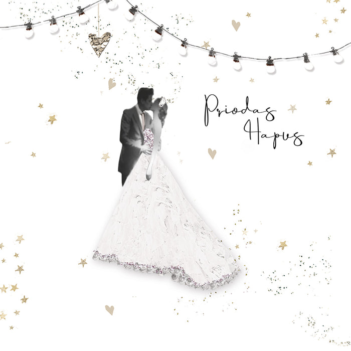Cerdyn Priodas Hapus | Happy Wedding Card