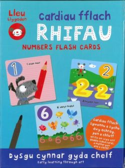 Lleu Mouse: Flash Cards Numbers Flash Cards - Siop Y Pentan
