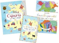 Wales On The Map 3 Book Pack - Siop Y Pentan