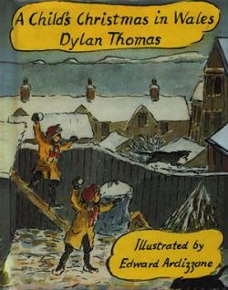 A Child's Christmas in Wales - Dylan Thomas - Siop Y Pentan
