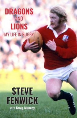 Dragons and Lions - My Life in Rugby - Siop Y Pentan