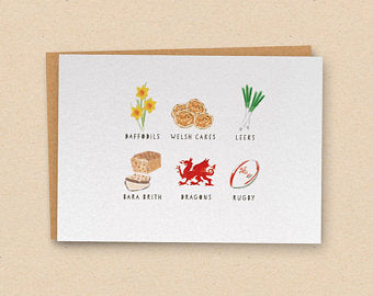 Welsh Cards For All Occasions | BettyJamesDesigns - Siop Y Pentan
