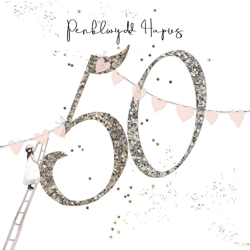 Happy Birthday 50 | Hammond Gower - Pentan Shop