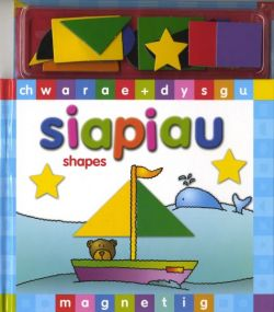 Magnetic Play and Learning: Shapes - Siop Y Pentan