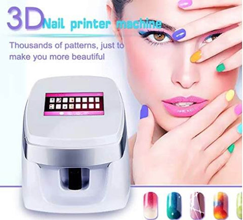 Mobil Nail Art Printer Machine -Online Best Deals