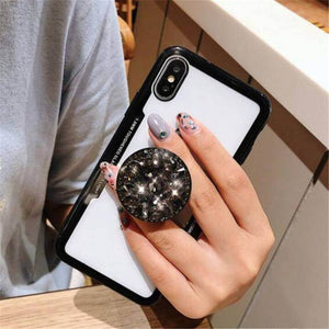 3D Diamond Pop Socket iPhone & Samsung Case-Online Best Deals-Online Best Deals