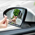 Car Sticker Anti Fog Car Rearview Mirror Protective Film (2Pieces)-Online Best Deals