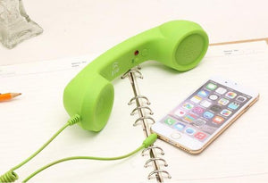 Mobile Phone Handset Mic & Speaker-Online Best Deals-Green-Online Best Deals