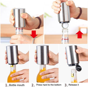 Magnetic Automatic Bottle Opener-Home & Kitchen-Online Best Deals