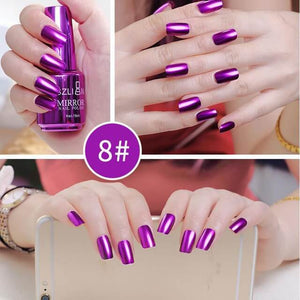 Metallic Nail Polish Magic Mirror Effect (18ml)-Online Best Deals