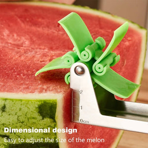Stainless Steel Windmill Watermelon Cutter-Online Best Deals