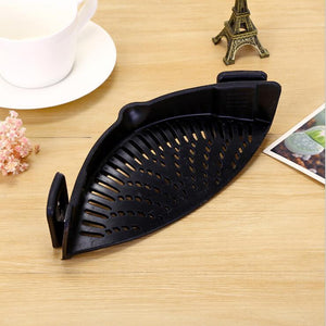 Strainer Clip-on Kitchen Tool-Online Best Deals-Black-Online Best Deals