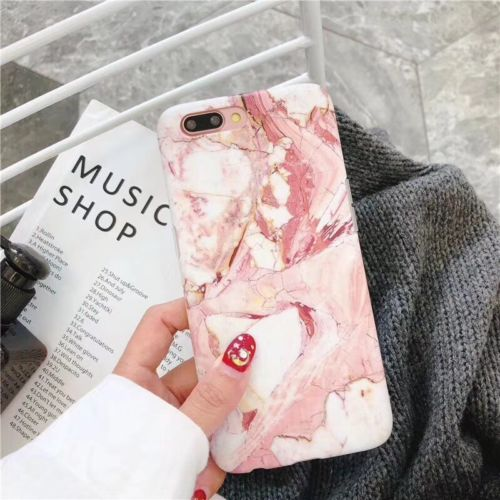 Marble Case For Iphone (best christmas gift)-Online Best Deals-Pink-For iPhone 8-Online Best Deals