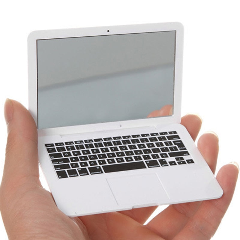 Cute Mirror MAKEUP Mini Pocket Laptop Style-Online Best Deals