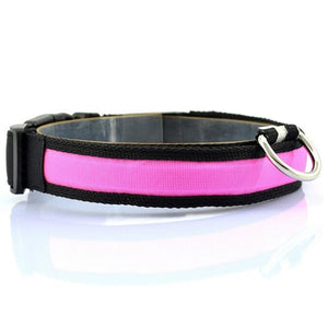 Led Anti-lost Flashing Glow Collars for Pets (Dogs & Cats)-Online Best Deals-Pink-S-Online Best Deals