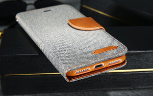 Luxury Leather Wallet Flip Case For iPhone-Online Best Deals-Online Best Deals