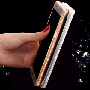 Luxury Bling Diamond Clear Phone Case for Samsung Galaxy S8 S9 S10 Plus S10E S7 S6 Edge J6 A7 2018 NOTE 8 9-phone case-Online Best Deals