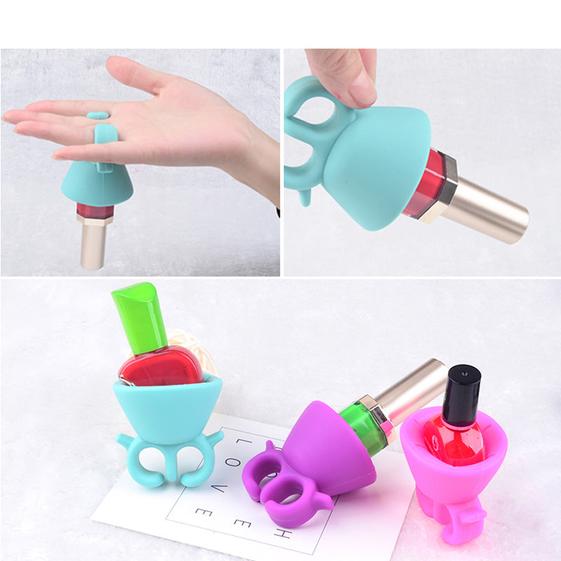 Nail Polish Ring & Bottle Holder-Online Best Deals-Online Best Deals