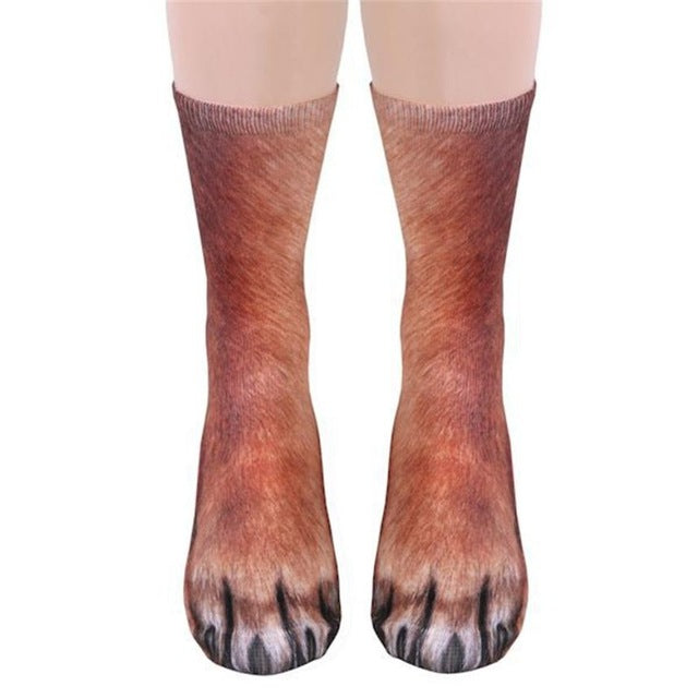 Animal Paw Socks (One size fits all)-Socks-Online Best Deals-Dog-Online Best Deals