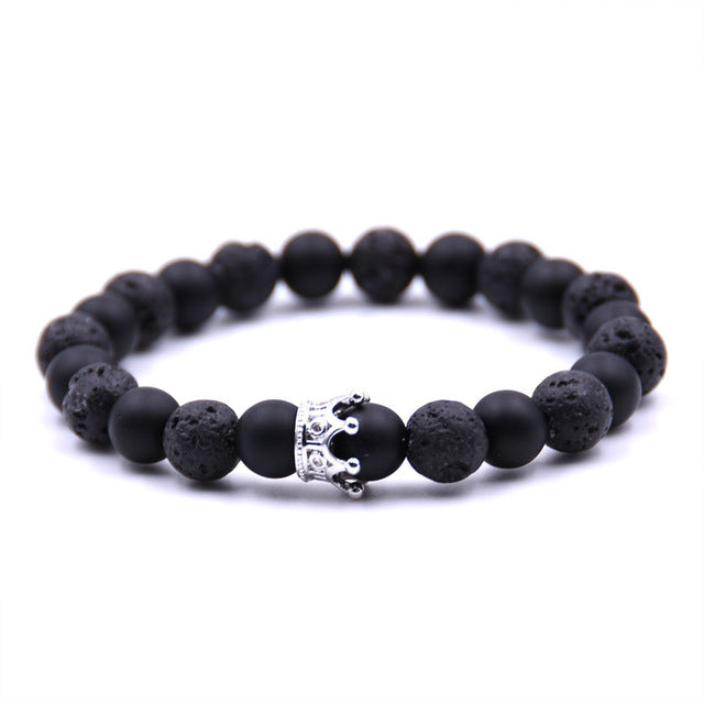 King & Queen Crown Bracelets-Online Best Deals-bracelet-Online Best Deals