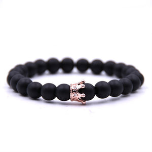King & Queen Crown Bracelets-Online Best Deals-Black 1-Online Best Deals
