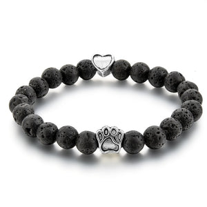 Dog Paw Bracelet-Online Best Deals-Black-19cm-Online Best Deals