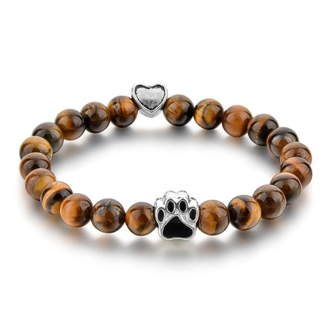 Dog Paw Bracelet-Online Best Deals-Brown-19cm-Online Best Deals