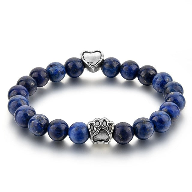 Dog Paw Bracelet-Online Best Deals-Blue-19cm-Online Best Deals