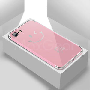 Luxury iPhone mirror case-phone case-Online Best Deals-Pink 1-For iPhone X-Online Best Deals
