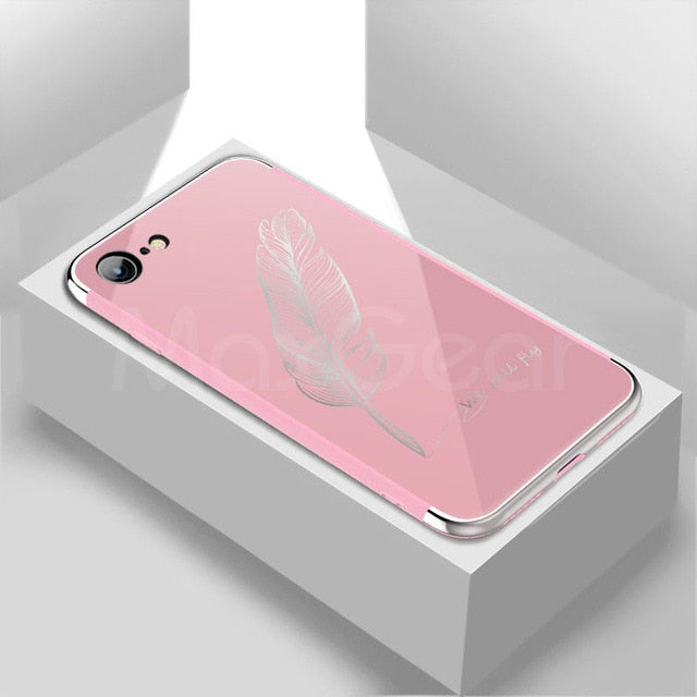 Luxury iPhone mirror case-phone case-Online Best Deals-Pink 2-For iPhone X-Online Best Deals