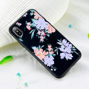 3D Relief Flower Phone Case For iPhone-Online Best Deals-Style 2-For iPhone 5 5s SE-Online Best Deals